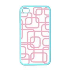 Pink elegant design Apple iPhone 4 Case (Color)