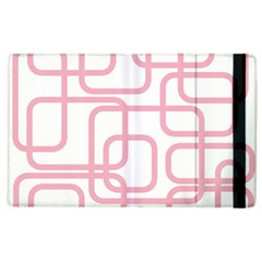Pink elegant design Apple iPad 3/4 Flip Case