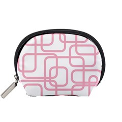 Pink elegant design Accessory Pouches (Small)
