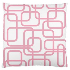 Pink elegant design Standard Flano Cushion Case (Two Sides)