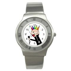 Punker  Stainless Steel Watch