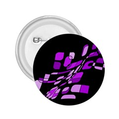 Purple decorative abstraction 2.25  Buttons