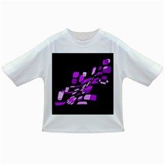 Purple decorative abstraction Infant/Toddler T-Shirts