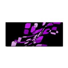 Purple decorative abstraction Hand Towel