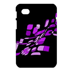 Purple decorative abstraction Samsung Galaxy Tab 7  P1000 Hardshell Case