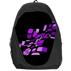 Purple decorative abstraction Backpack Bag