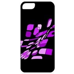 Purple decorative abstraction Apple iPhone 5 Classic Hardshell Case