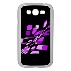 Purple decorative abstraction Samsung Galaxy Grand DUOS I9082 Case (White)