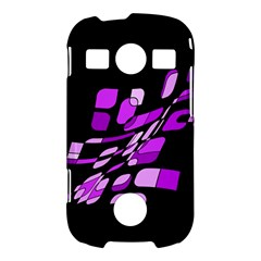 Purple decorative abstraction Samsung Galaxy S7710 Xcover 2 Hardshell Case