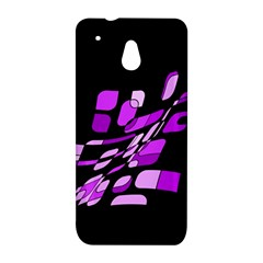 Purple decorative abstraction HTC One Mini (601e) M4 Hardshell Case