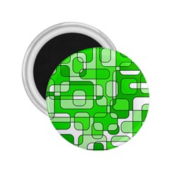 Green decorative abstraction  2.25  Magnets