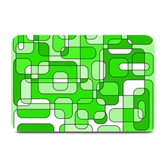 Green decorative abstraction  Plate Mats