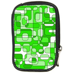 Green decorative abstraction  Compact Camera Cases