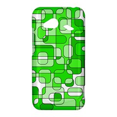 Green decorative abstraction  HTC Droid Incredible 4G LTE Hardshell Case
