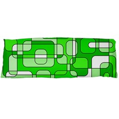 Green decorative abstraction  Body Pillow Case Dakimakura (Two Sides)