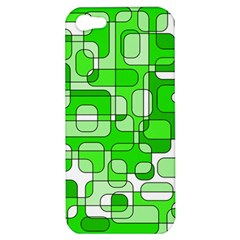 Green decorative abstraction  Apple iPhone 5 Hardshell Case