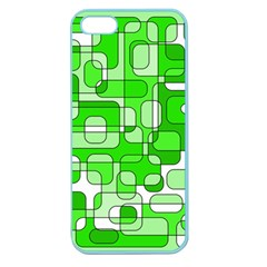 Green decorative abstraction  Apple Seamless iPhone 5 Case (Color)