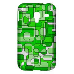 Green decorative abstraction  Samsung Galaxy Ace Plus S7500 Hardshell Case