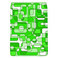 Green decorative abstraction  Flap Covers (L)