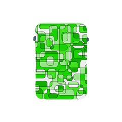 Green decorative abstraction  Apple iPad Mini Protective Soft Cases
