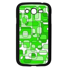 Green decorative abstraction  Samsung Galaxy Grand DUOS I9082 Case (Black)