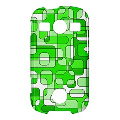 Green decorative abstraction  Samsung Galaxy S7710 Xcover 2 Hardshell Case