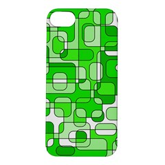 Green decorative abstraction  Apple iPhone 5S/ SE Hardshell Case