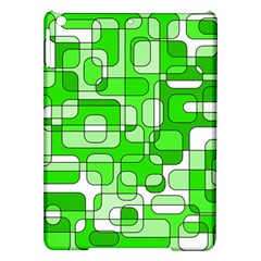 Green decorative abstraction  iPad Air Hardshell Cases