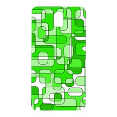 Green decorative abstraction  Samsung Galaxy Note 3 N9005 Hardshell Back Case