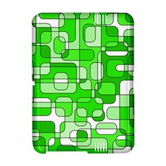 Green decorative abstraction  Amazon Kindle Fire (2012) Hardshell Case