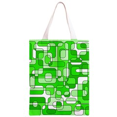Green decorative abstraction  Classic Light Tote Bag