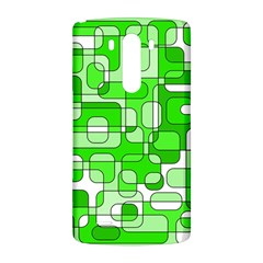 Green decorative abstraction  LG G3 Back Case
