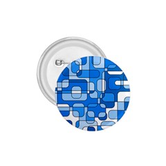 Blue decorative abstraction 1.75  Buttons