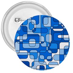 Blue decorative abstraction 3  Buttons