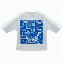 Blue decorative abstraction Infant/Toddler T-Shirts