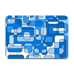 Blue decorative abstraction Plate Mats