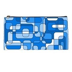 Blue decorative abstraction Pencil Cases