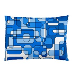 Blue decorative abstraction Pillow Case (Two Sides)
