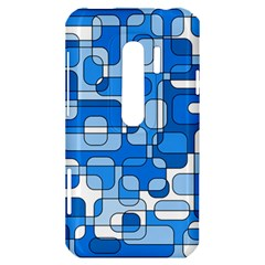 Blue decorative abstraction HTC Evo 3D Hardshell Case