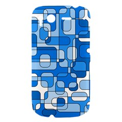Blue decorative abstraction HTC Desire S Hardshell Case