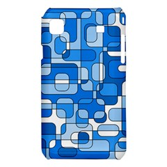 Blue decorative abstraction Samsung Galaxy S i9008 Hardshell Case