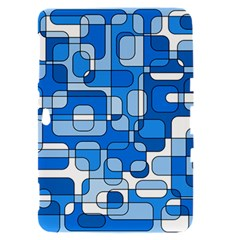 Blue decorative abstraction Samsung Galaxy Tab 8.9  P7300 Hardshell Case