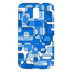 Blue decorative abstraction Samsung Galaxy S II Skyrocket Hardshell Case