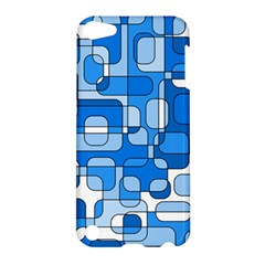 Blue decorative abstraction Apple iPod Touch 5 Hardshell Case