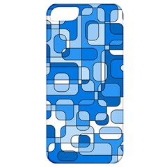 Blue decorative abstraction Apple iPhone 5 Classic Hardshell Case
