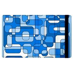 Blue decorative abstraction Apple iPad 3/4 Flip Case