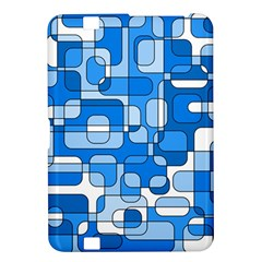 Blue decorative abstraction Kindle Fire HD 8.9