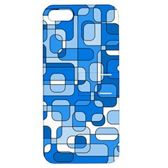 Blue Decorative Abstraction Apple Iphone 5 Hardshell Case With Stand