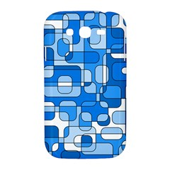Blue decorative abstraction Samsung Galaxy Grand DUOS I9082 Hardshell Case