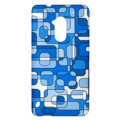 Blue decorative abstraction HTC One Max (T6) Hardshell Case